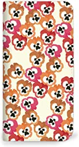 mitas iphone 手机壳620NB-0248-C/HTV31 18_HTC J butterfly (HTV31) C・ピンク×オレンジ(ベルトなし)