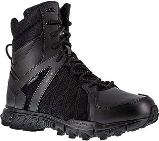 男式 TRAILGRIP TACTICAL 防水保暖靴,8.5 码黑色