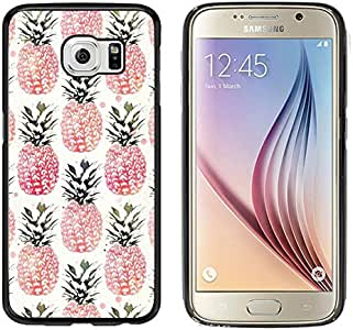 Galaxy S6 Case, Laser Technology for Protective Samsung Galaxy S6 Case Black DOO UC (TM) - Yellow Chevron Proverbs 31:25 DOU (47)