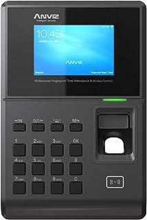 Anviz TC580 交叉检测和访问控制:生物识别,卡射频识别和PIN,Linux,HD 3.2英寸,TCP/ip PoE 和 WiFi。