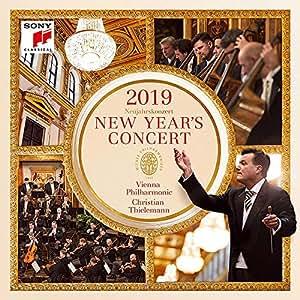 【中图音像】2019年维也纳新年音乐会2CD 蒂勒曼指挥 索尼 NEW YEAR'S CONCERT 2019