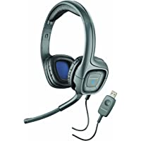 Plantronics .Audio 655 DSP USB 耳机,带可悬挂式麦克风插杆