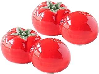 餐具汤匙架 2个蔬菜 番茄 4.5×2.5cm 2个装