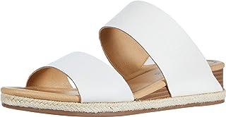 Lucky Brand 女士 Wyntor 坡跟凉鞋