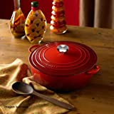 Le Creuset 铸铁美食烤盘签名防刮擦 红色 21179300602430