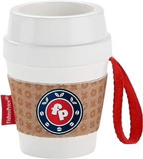 Fisher-Price 咖啡杯牙胶,带上这款二合一摇铃和牙胶,让您的宝宝享受快乐的玩耍时光!