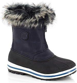 Kimberfeel Avalanche 女童雪地靴,粉色,11