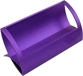 CellCase Desktop Innovative/Creative Q Shape 不锈钢商务名片夹 紫色