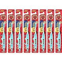 儿童牙刷1岁半 - 5岁用面包超人蓝色 8本