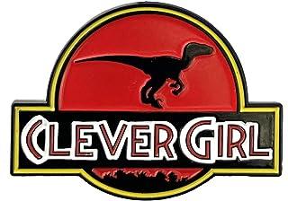 Clever Girl Raptor 1.5 英寸软搪瓷别针