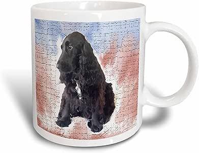3dRose Black Cocker Spaniel - Magic Transforming Mug, 11oz (mug_4090_3)