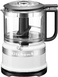 KitchenAid 凱膳怡 5KFC3516S 經典迷你食品處理器 0.83 升 240 瓦 白色 白色 5KFC3516BWH