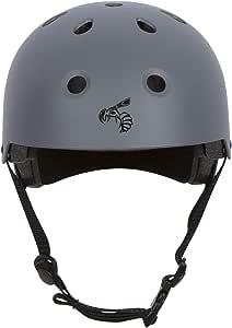 黄色夹克认证滑板头盔 - CPSC ASTM 认证抗冲击通风多运动、自行车、滑板、滑板、滚轮滑、儿童、青少年、男士、女士