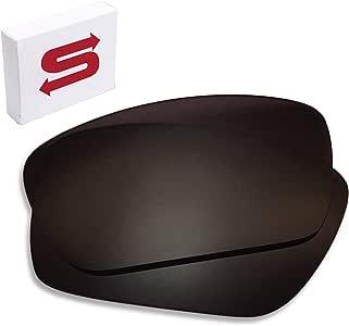 深黑色 Oakley 燃料*镜片偏光镜替换。 高品质,完美贴合。 Oakley 燃料电池替换镜片(无雕刻)
