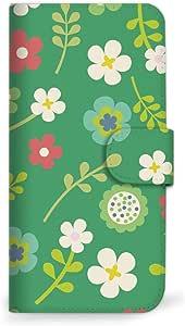 Mitas 智能手机壳 手册式 花 花纹 花朵图案 花MIR-0029-GR/P9 18_HUAWEI (P9) *