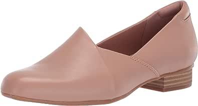 Clarks 女士 Juliet Palm 乐福鞋 Praline Leather 5 M US