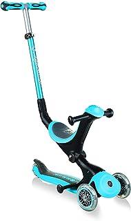 GLOBBER GLOBBER 摇篮 三轮 儿童用 1岁以上 高度可调节 外出游 运动 游玩 钥匙 滑板车 护目/天蓝色 WLGB644101