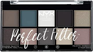 NYX Professional Makeup 眼影盤,Perfect Filter Shadow Palette,10款眼影色調,Gloomy Days 04,17,7克