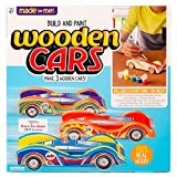 Made By Me Build & Paint Your Own Wooden Cars by Horizon Group USA 木制汽车 基础套装