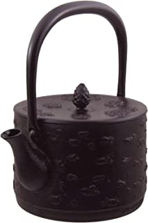 Nagao 水泽×燕三条 南部铁器 铁瓶 樱皮寸胴 1.0L