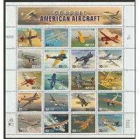 1997 年经典美国飞机-20 张邮票,Scott 3142 由 USPS 设计