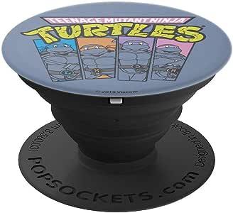 Teenage Mutant Ninja Turtles Panel Power - PopSockets 手机和平板电脑握架260027  黑色