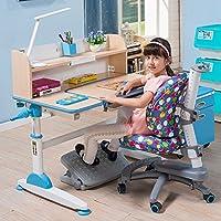 生活诚品儿童书桌儿童学习桌椅套装可升降书桌学生写字桌 ME352(配AU303)粉色 (蓝色)