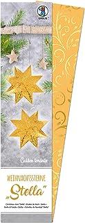 URSUS 一品红 Stella 金色手巾 黄色 110克 约7 × 30厘米 33张 金色加工 附带折叠说明书