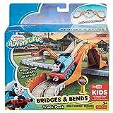 Fisher Price Thomas & Friends Adventures 托马斯与伙伴们系列 – 桥梁和弯曲轨道套装(Dyv58)