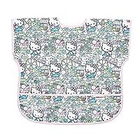 Bumkins Hello Kitty 青少年围兜/短袖幼儿围兜/罩衫 1-3 岁,防水、可水洗,防污渍、防臭
