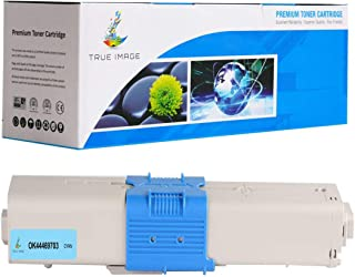 TRUE IMAGE OKI OK44469703 Compatible Toner Cartridge Replacement for OKI 44469703 Cyan
