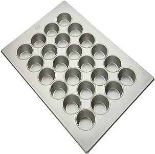 "Focus Foodservice 商业烤盘,12 只装,3-1/2 英寸大号松饼平底锅 Jumbo Muffin 3-3/8"" 905285"