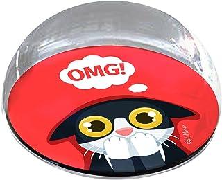 "Forever Crystal ""OMG 卡通猫宠物纪念磁贴"