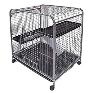 Ware Manufacturing 3 级室内软合器适用于小型宠物 - 大号