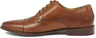 Florsheim 男士 Montinaro 开普托礼服鞋系带牛津鞋 马鞍棕褐色 8 XW US