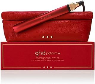ghd platinum+ deep scarlet Styler, Limited Edition mit passender Tasche, Rot