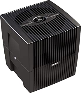 Venta文塔空气净化器,LW25 COMFORTPlus,空气加湿器和空气过滤器,适用于45平方米的房间 Brillant Schwarz 7026401