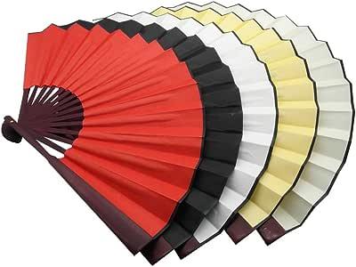 TRENDBOX 中国传统尼龙布手持式折叠风扇 5 种颜色 B01D4CTODY