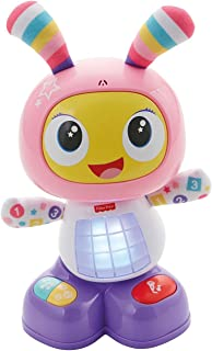 Fisher-Price 互动机器人 Robita,粉色和紫色(Mattel fbc99)
