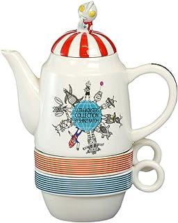 爱龙社 茶壶 多色 壶/17× 高16.9cm 杯子/直径9.2×11.9×高4.7cm