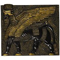 Design Toscano Assyrian 翅膀公牛壁雕塑