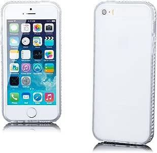 TPU Strass Rand iPhone 5 透明