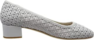 Clarks 其乐 Orabella Alice 女士短靴 Silber (Silver Leather Silver Leather) 35.5 EU オラベラアリス 本革