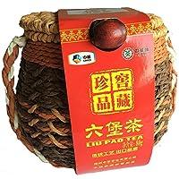 中粮中茶 广西梧州 窖藏珍品六堡茶73011箩装80g 广西黑茶(新老包装 随机发货)
