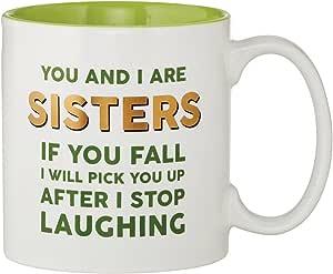 CB Gift Sips Drinkware 咖啡杯 Laughing Sisters 15 盎司
