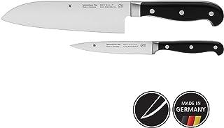 WMF 福腾宝 Spitzenklasse Plus 刀具套装 2件套,特殊刀片钢,2把刀锻造,铆接手柄,厨房刀