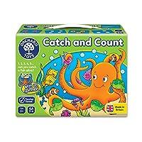 Orchard Toys 桌面游戏 捕捉和数数(亚马逊进口直采,英国品牌)