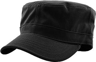 Cadet 军帽基本款日常军装风格帽子(提供 STASH 口袋版本)