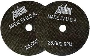 鲨鱼焊接 13069 鲨鱼 17.78 厘米 x 0.32 厘米 x 1.59 厘米 - 直径切割轮 8-Inch by 1/8-Inch by 5/8-Inch 13070