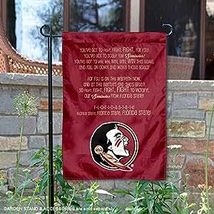 佛罗里达州立大学 Fight Song 花园旗帜和横幅